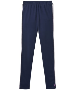 Girl's Joules Infant Glitzy Jersey Leggings, 6yrs - French Navy