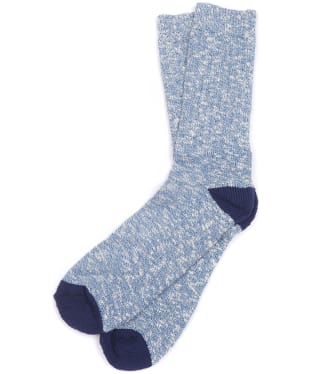 Men's Barbour Mariner Socks - Blue / Navy