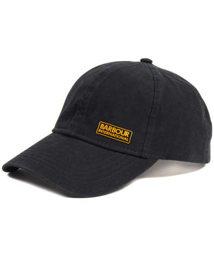 Men's Barbour International Norton Drill Cap - Black