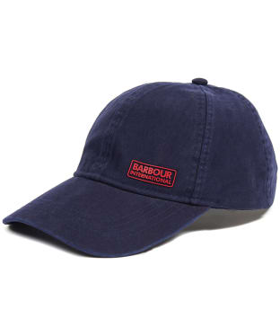 Men's Barbour International Norton Drill Cap - Navy