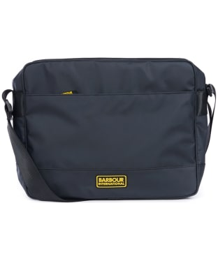 Men's Barbour International Bolt Messenger Bag - Black