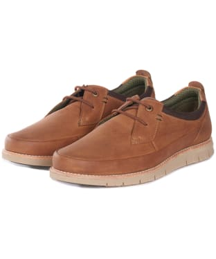 Men's Barbour Hardy Derby Shoe - Cognac