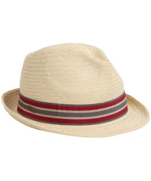 Men's Barbour Whitby Trilby Hat - Natural