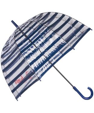 Women's Barbour Stripe Bubble Umbrella