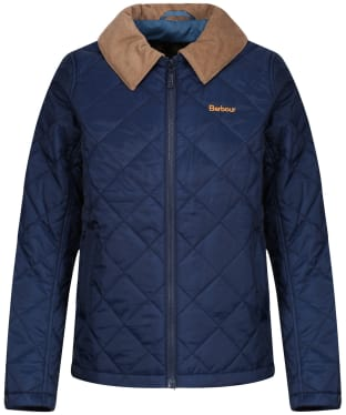 Boy's Barbour Helm Jacket, 2-9yrs - Navy