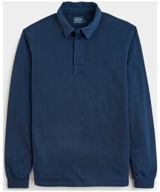 Men's Joules Parkside Long Sleeved Polo Shirt - French Navy