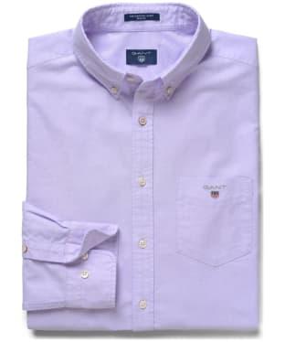 Men's Gant Regular Oxford Shirt - Soft Violet