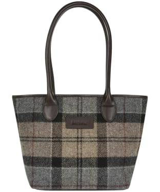 Women's Barbour Dee Tartan Handbag - Winter Tartan