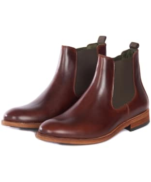 Men's Barbour Bedlington Chelsea Boots - Mahogany