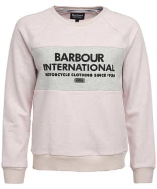 Women's Barbour International Triple Sweat - Pale Pink Marl