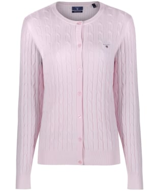 Women's GANT Stretch Cotton Cable Cardigan
