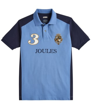 Men's Joules Imperial Polo Shirt - Powder Blue