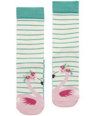 Girl's Joules Neat Feet Character Socks