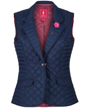 Women's Jack Murphy Esme Quilted Gilet - Navy Blue