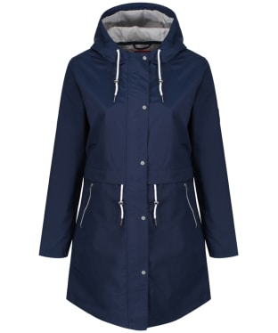 Women's Jack Murphy Fern Waterproof Coat - Navy Blue