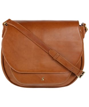 Women's Joules Darby Leather Cross Body Bag - Chestnut