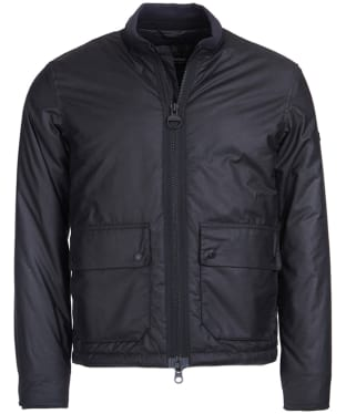 Men's Barbour International Injection Wax Jacket - Black