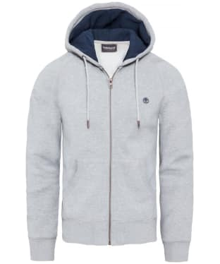Men's Timberland Exeter River Full Zip Hoodie - Grey Heather