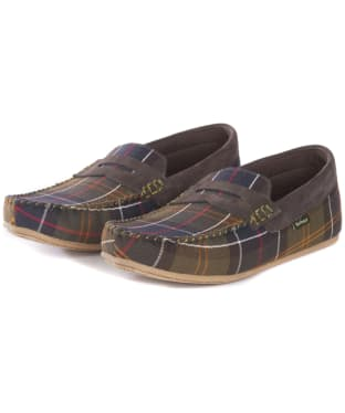 Men's Barbour Ashworth Slippers - Classic Tartan