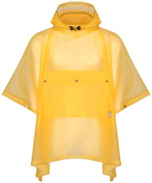 Hunter Original Vinyl Waterproof Poncho - Yellow
