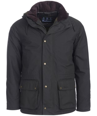 Men's Barbour Woodfold Waterproof Jacket - Sage