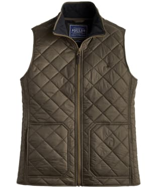 Men's Joules Outland Gilet - Dark Khaki