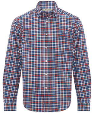 Men's R.M. Williams Collins Shirt - Red Navy