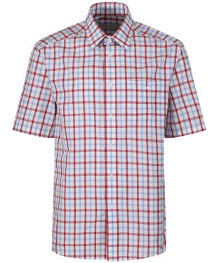 Men's R.M. Williams Hervey Shirt - White / Blue / Red