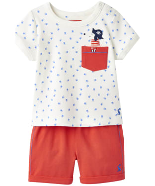 Boy's Joules Baby Barnacle Top and Shorts Set, 3-9m