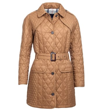 Women's Barbour Hailes Quilted Jacket - Camel
