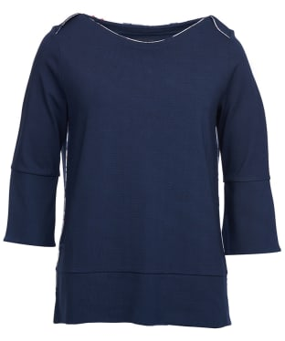 Women's Barbour Blantyre Top - Navy