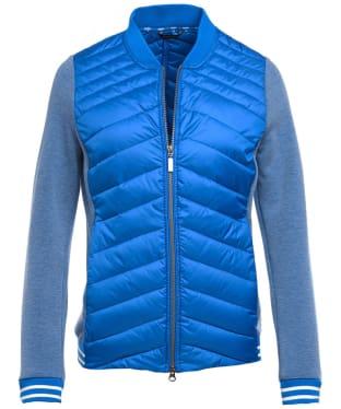 Women's Barbour Pembrey Sweater Jacket - Victoria Blue