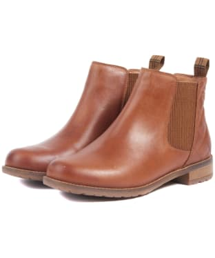 Women's Barbour Abigail Chelsea Boot - Cognac