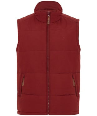 Men's R.M. Williams Patterson Creek Vest - Barn Red