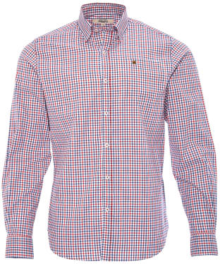 Men's Dubarry Ballincollig Long Sleeve Shirt - Saffron Multi