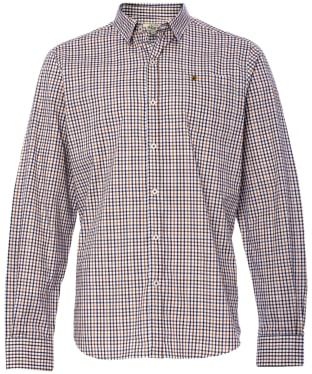 Men's Dubarry Ballincollig Long Sleeve Shirt - Khaki Multi