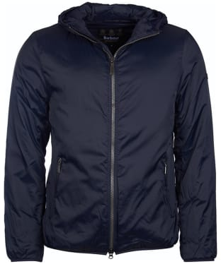 Men's Barbour International Draft Quilt Jacket - Navy