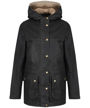 Women's Barbour Lightweight Durham Wax Jacket - Dark Olive