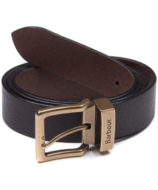Men's Barbour Blakely Belt - Dark Brown