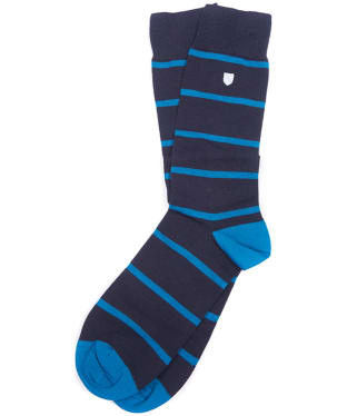Men's Barbour Barrasford Socks - Navy / Blue