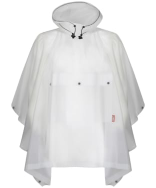 Hunter Original Vinyl Waterproof Poncho - White