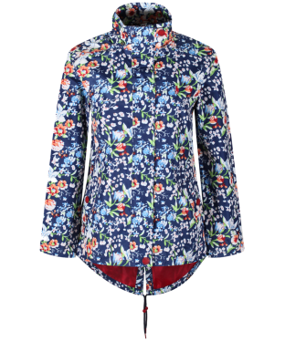 Women's Jack Murphy Monica Waterproof Jacket - Holiday Flower