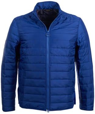 Men's Barbour Upton Quilted Jacket - Atlantic Blue