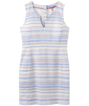 Women's Joules Elayna Shift Dress - White / Blue / Pink