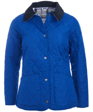 Women's Barbour Spring Annandale Quilted Jacket - Sodalite Blue