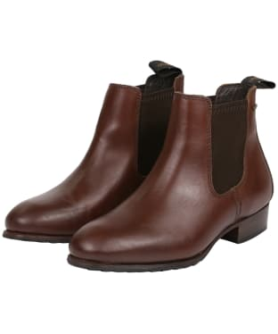 Women's Dubarry Cork Boots - Chestnut
