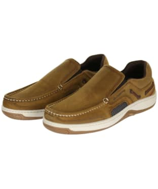 Men's Dubarry Yacht Loafers - Brown Nubuck