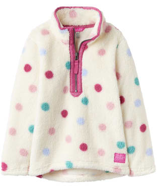 Girl's Joules Infant Merridie Half Zip Fleece, 2-5yrs