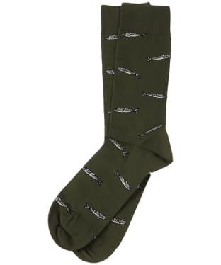 Men's Barbour Sardine Socks