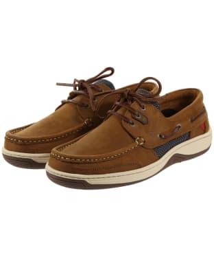 Men's Dubarry Regatta Boat Shoes - Whiskey